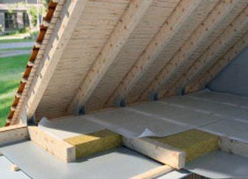 Утепление потолка в чердачном помещении