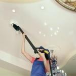 Вакуумная чистка потолка