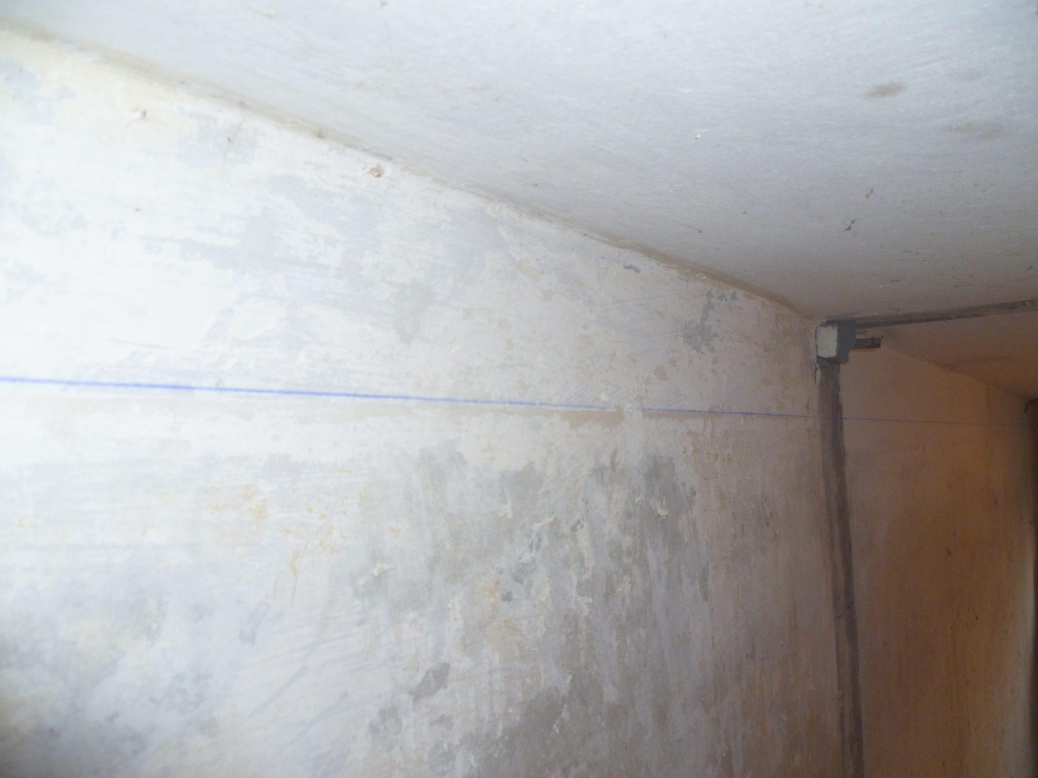 Разметка под гипсокартонный потолок