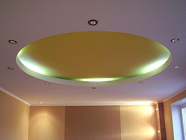 Сборка потолка из гипсокартона не займет много времени, а результат будет радовать долгие годы.