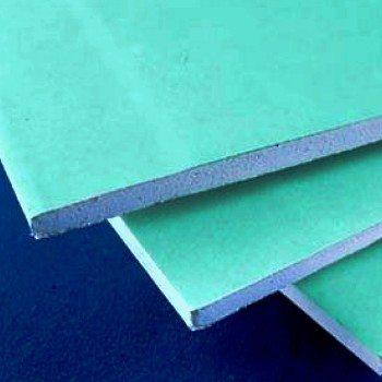 ГКЛВ является идеальным решением для монтажа подвесных потолков в ванных комнатах