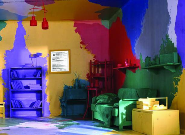 Покраска потолков водоэмульсионной краской своими руками фото