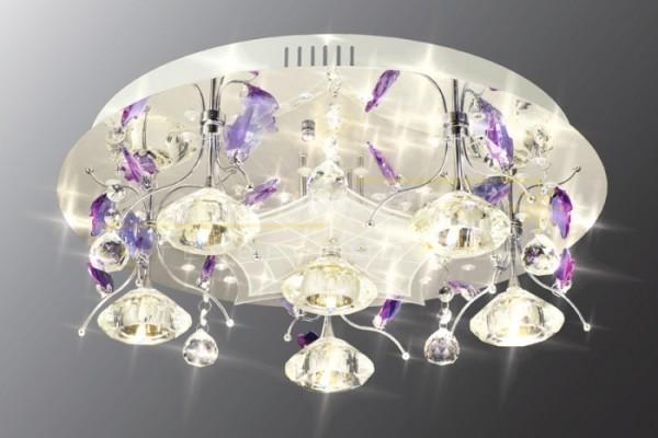 Волшебный диодный светильник с внешним расположением лампочек