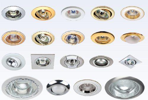 Светильники врезные потолочные точечные