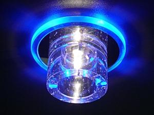 Встраиваемый точечный светильник с наружным устройством лампы