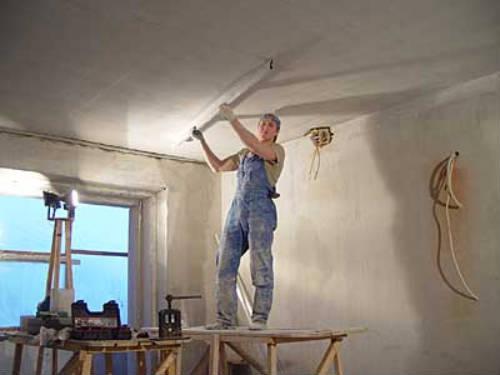 Потолок должен быть ровным