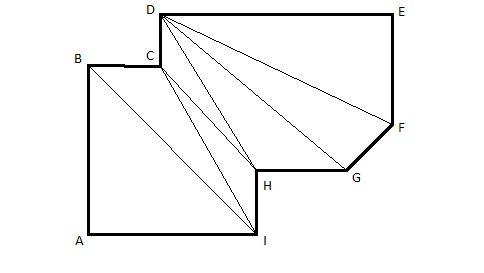 Любой многоугольник несложно разделить на простые геометрические фигуры