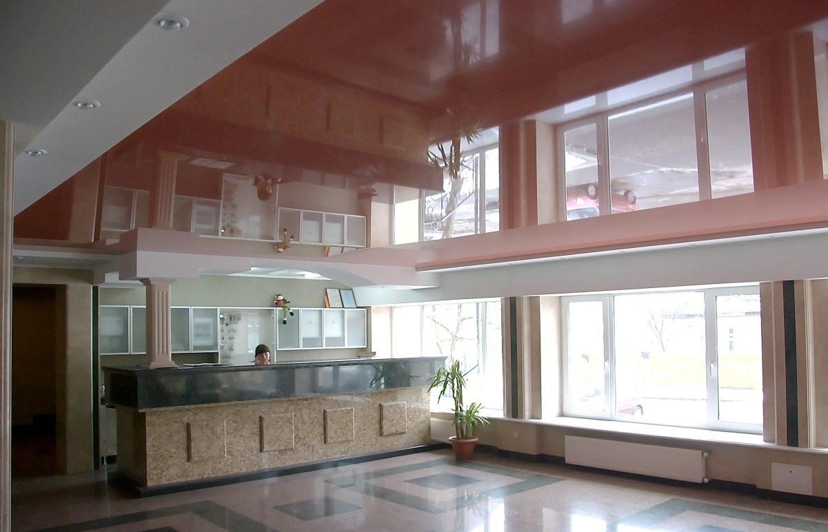 Многообразие дизайна натяжных потолков в гостинойЖенские радости