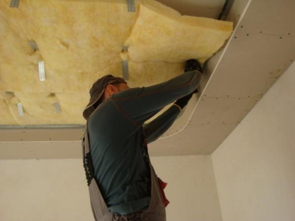 Звукоизоляция потолка под установку акустики открытого типа